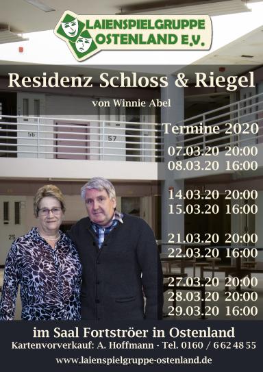Plakat Spielzeit 2019/2020